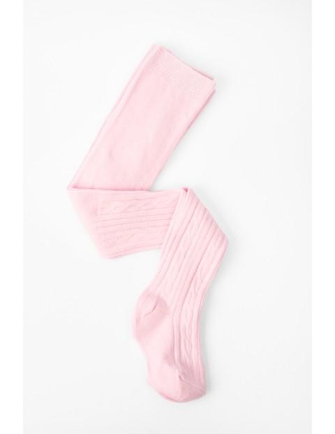 Rajstopy dla niemowlaka różowe