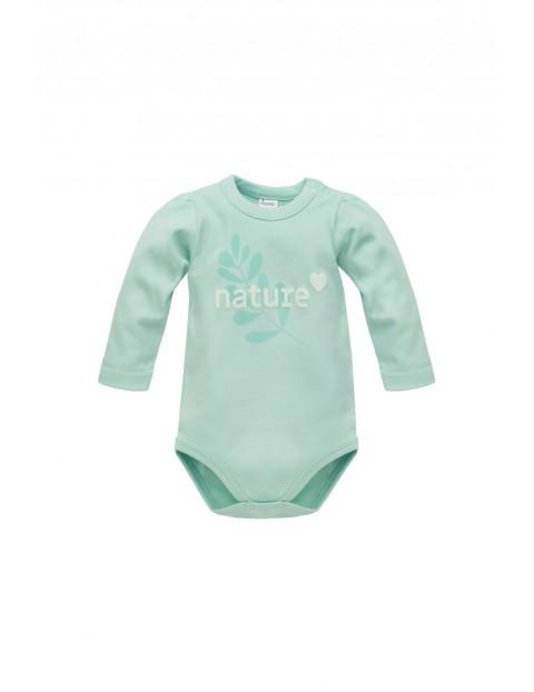 Body niemowlęce z napisem Nature