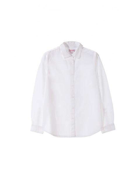 Koszula chłopięca biała 2J3301