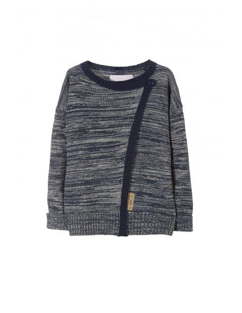 Sweter dziewczęcy 4C3202