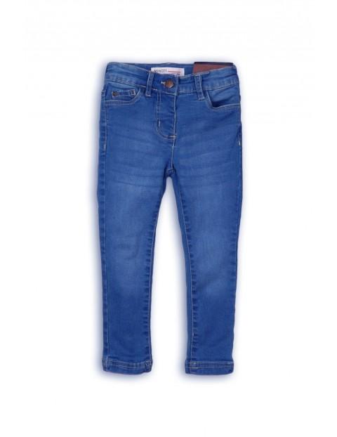 Spodnie dziewczęce jeansowe- rurki