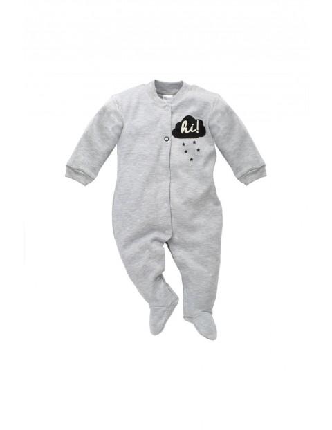 Pajac dzianinowy dla niemowlaka 5R35B1