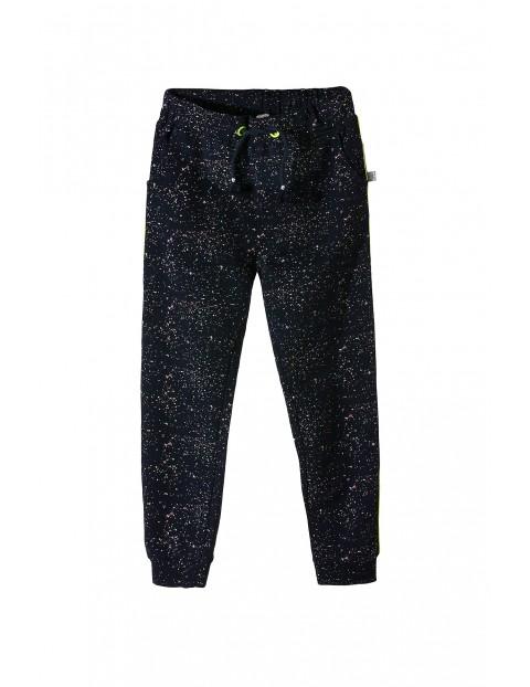 Spodnie dresowe dziewczęce 4M3410