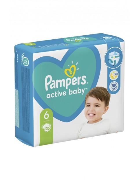 Pampers Active Baby, rozmiar6, 36pieluszek, 13-18kg