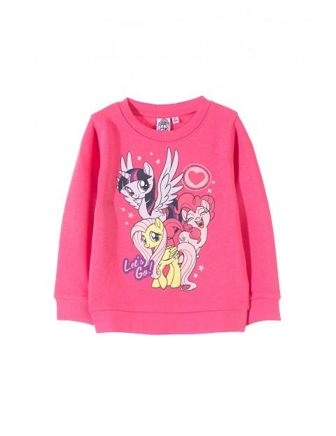 Bluza dresowa dziewczęca 3F33AG