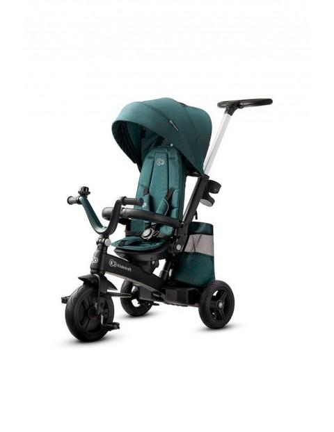 Rowerek trójkołowy- spacerówka Kinderkraft Easytwist zielony 9msc+