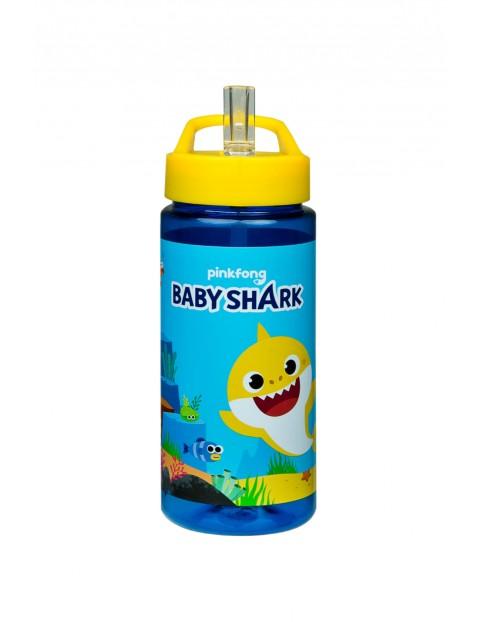 Bidon butelka Plastik BABY SHARK - niebieski