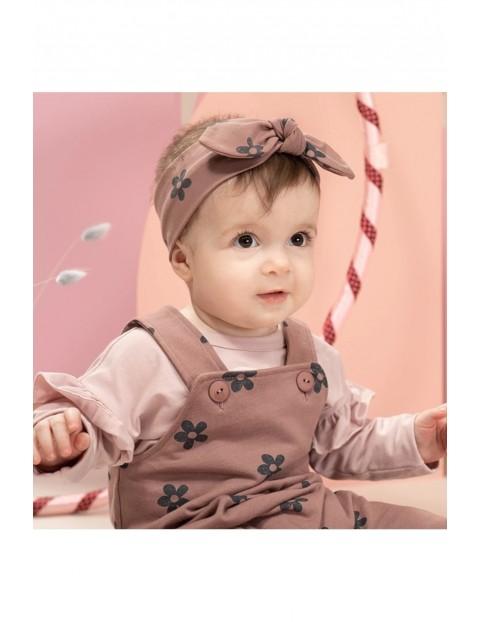 Opaska niemowlęca w kwiatki
