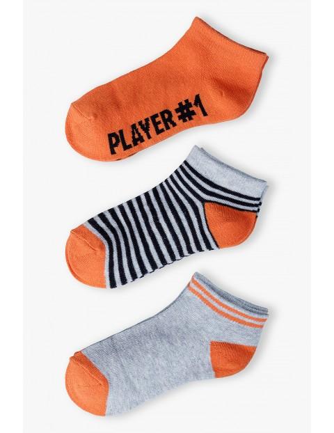 Skarpetki chłopięce Player#1 3pak