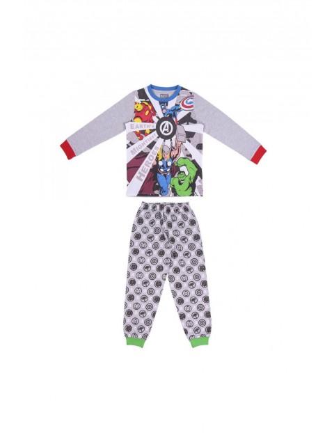 Piżama chłopięca Avengers - szara
