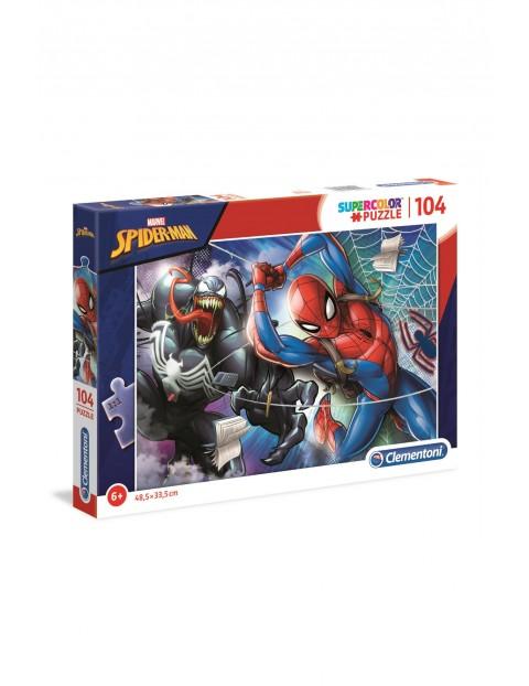 Puzzle Spider-Man  - 104 elementy wiek 6+