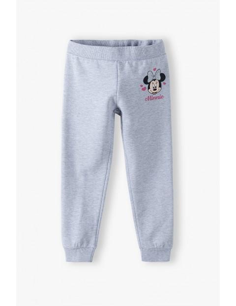 Spodnie dresowe dziewczęce Minnie -szare
