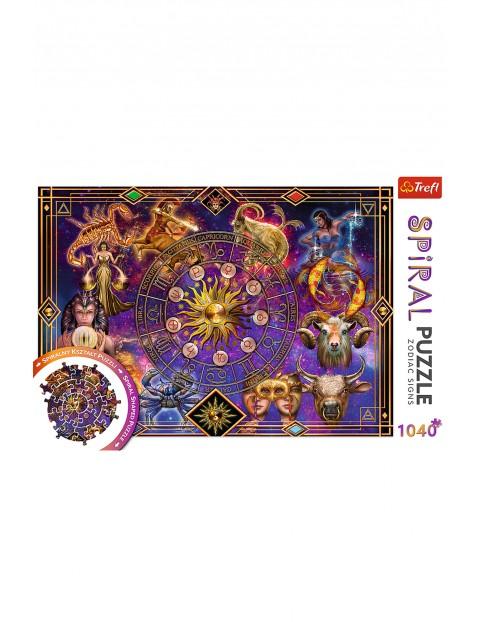 Puzzle Spiral  Znaki zodiaku Trefl - 1040 elementów