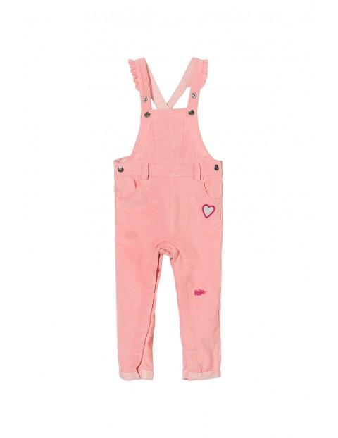 Spodnie niemowlęce na szelkach 5L3502