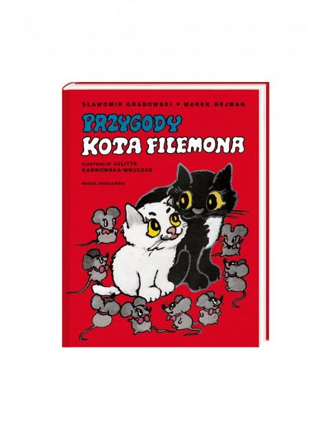 Przygody kota Filemona- książka dla dzieci