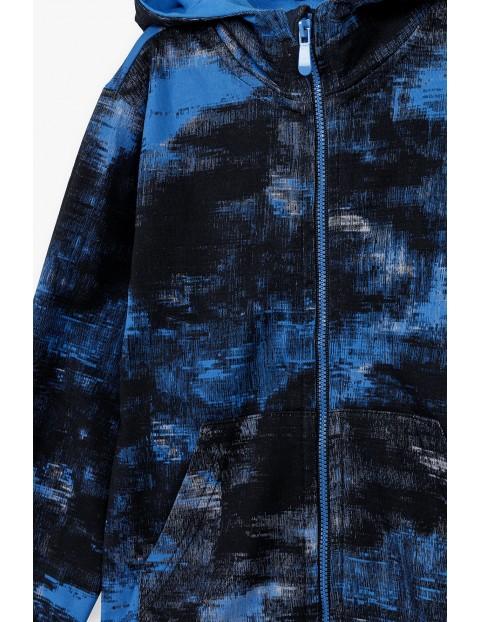 Bluza dresowa chłopięca z kapturem