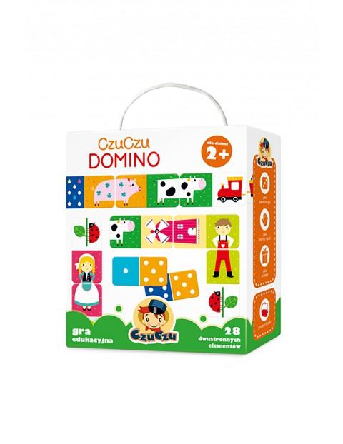 Domino CzuCzu- gra edukacyjna 2+