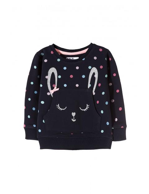 Bluza dziewczęca z królikiem 3F3509