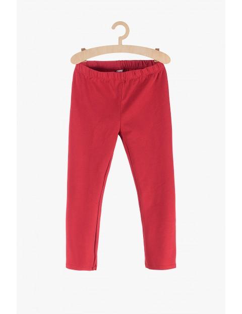 Leginsy dla dziewczynki-czerwone