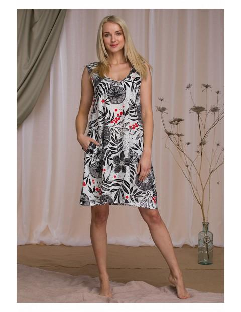 Kwiecista sukienka damska na lato