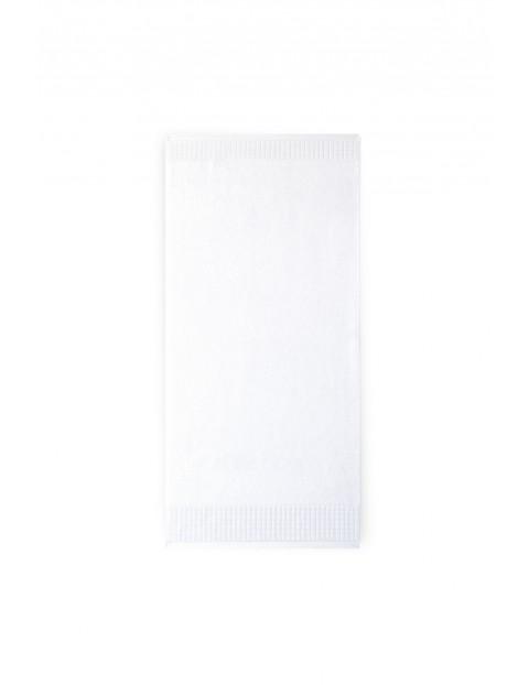 Ręcznik Paulo z bawełny egipskiej  biały 50x100 cm