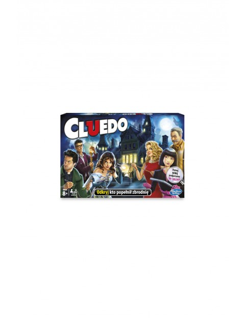 "Gra ""Cluedo"" Hasbro 8+"