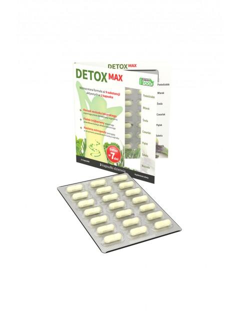 Detox Max - układ trawienny Noble Health 21 kapsułek