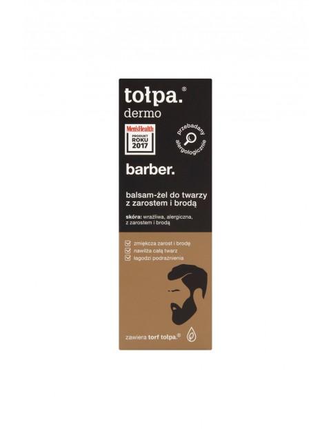 Tołpa dermo barber Balsam-żel do twarzy z zarostem i brodą 75 ml