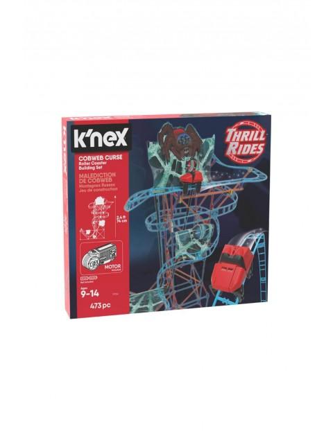 K'Nex Pajęcza klątwa kolejka górska - zestaw konstrukcyjny 473 el wiek 9+