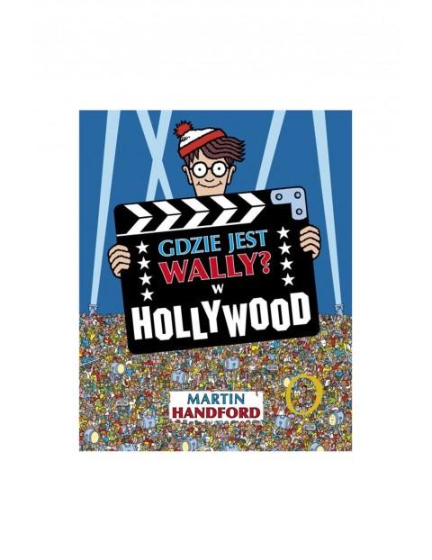 """Książka """"Gdzie jest Wally? W Hollywood"""""""