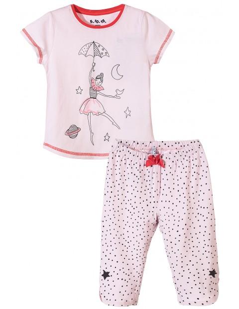 Pidżama dziewczęca 3W3412