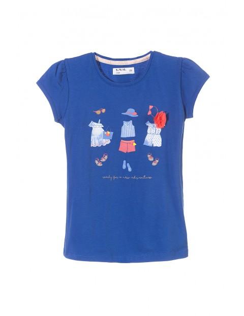 T-shirt dziewczęcy 3I3420