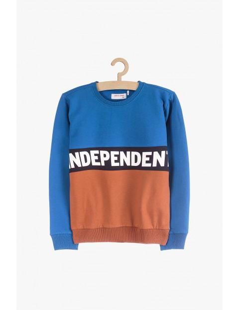 Dresowa bluza dla chłopca- Independent