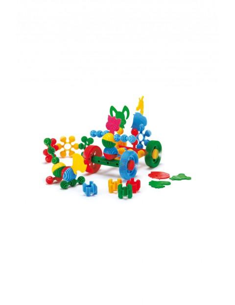 Klocki Funny Blocks - w słoiku dużym 58szt