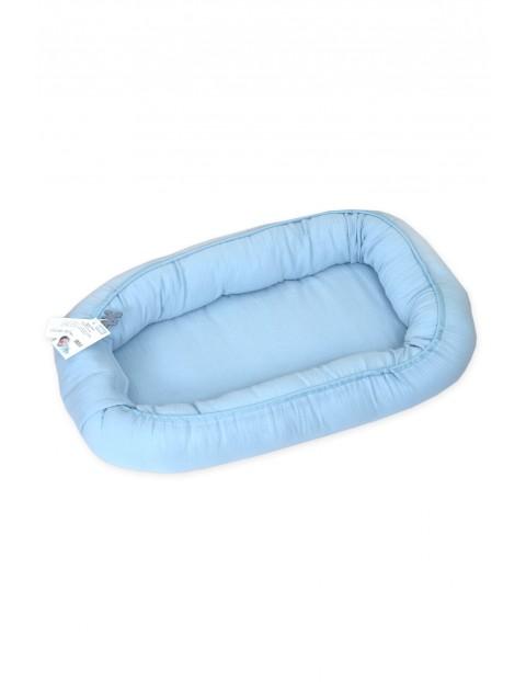 Kokon niemowlęcy błękitny 70x45cm