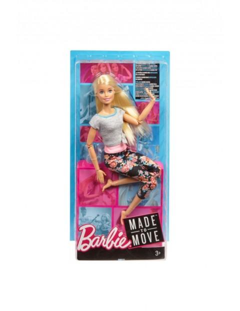 Barbie Made to move Lalka kwiecista blond wiek 3+