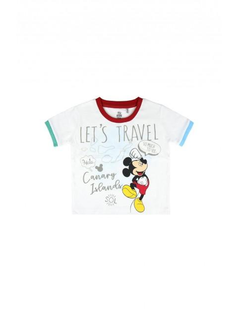 T-shirt dziecięcy z nadrukiem Mickey