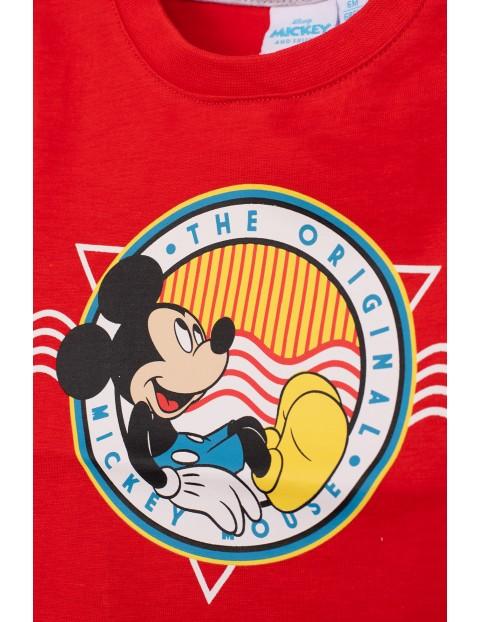 Komplet niemowlęcy Myszka Mickey - czerwony