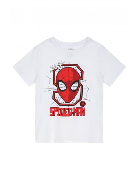 Koszulka chłopięca Spiderman-biała