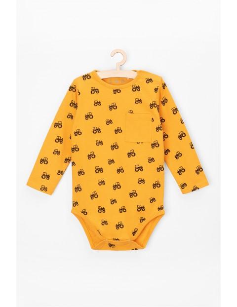 Body niemowlęce bawełniane