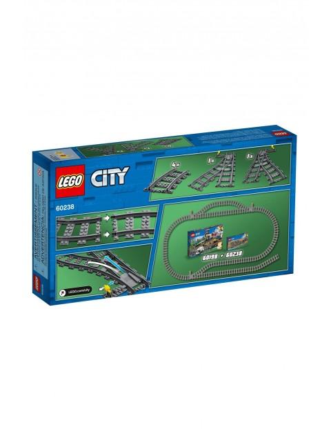 Lego City - Zwrotnice 60238  - 8 elementów wiek 5+