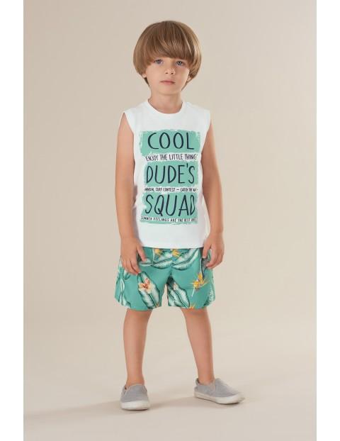 Komplet chłopięcy - koszulka i spodenki