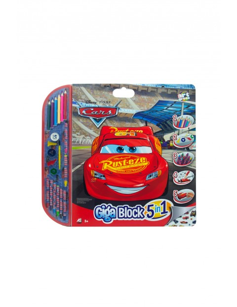 Zestaw artystyczny CARS wiek 3+