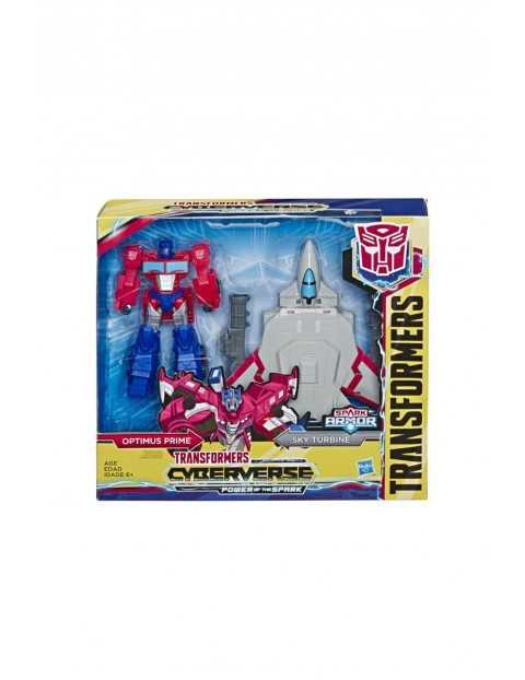 Transformers Cyberverse Spark armor optimus prime 6+