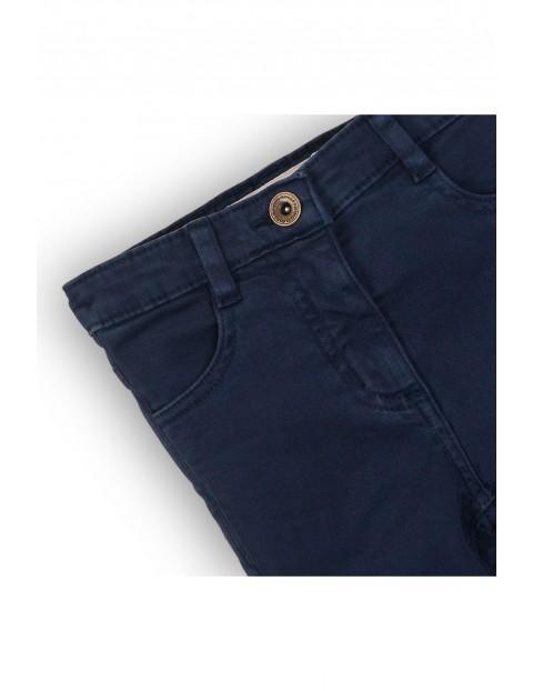 Spodnie dziewczęce granatowe