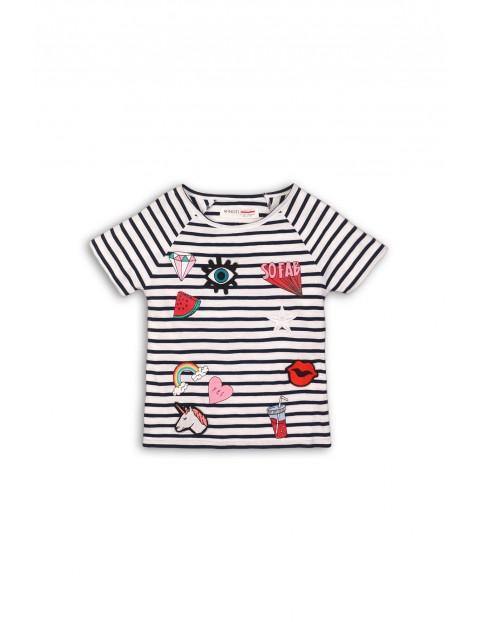 T-shirt dziewczęcy 3I34BZ