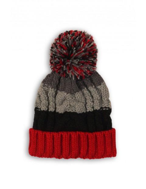 Zimowa czapka dla chłopca