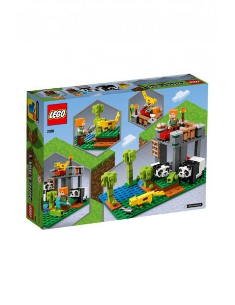 Klocki Lego Minecraft-Żłobek dla pand-204 elementy wiek 7+
