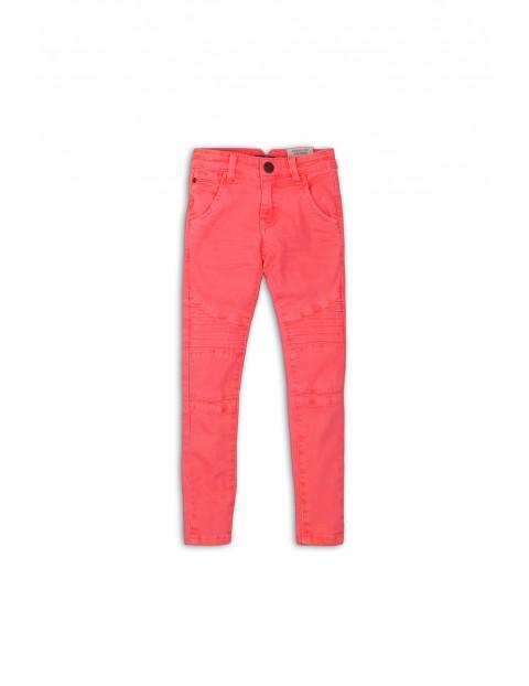 Spodnie dziewczęce jeansowe różowe