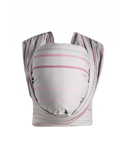 Chusta Zaffiro Be Close Diamond paski różowo-szare 3.5-13kg
